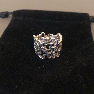 Tous bear Silver Ring